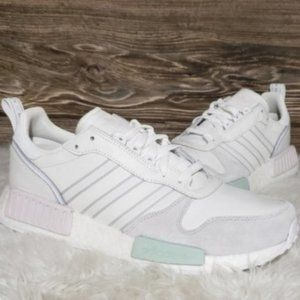 New Adidas Rising Star R1 White Grey Sneakers